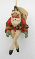 House Of Hatten Enchanted Forest Santa Elf Shelf Sitter Or Christmas Ornament Jf