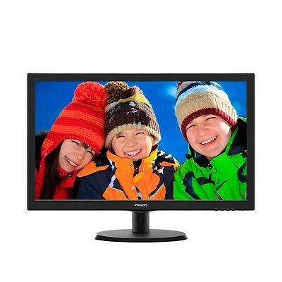 "Philips V-line 223V5LHSB 54,6cm (21.5"") LED Monitor EEK: B mit HDMI"