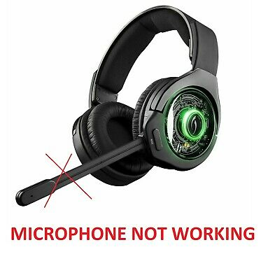 Afterglow Ag 9 Wireless Over The Ear Gaming Headset Xbox One Mic Not Working Ebay