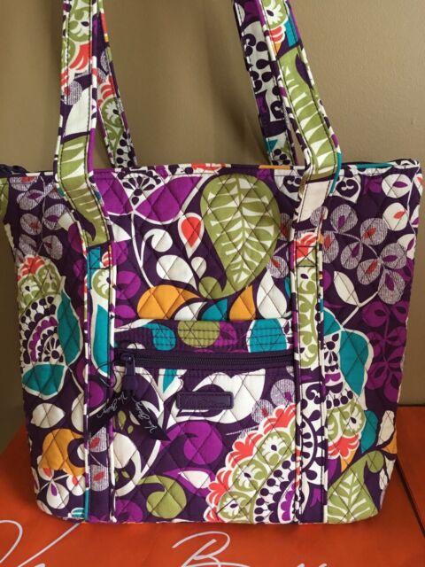 Vera Bradley Villager Shoulder Bag in Plum Crazy for sale online  bb879b502671f