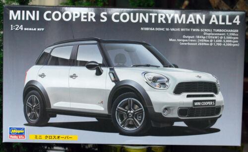 2011 Mini Cooper S Countryman All 4 1:24 Hasegawa 24121