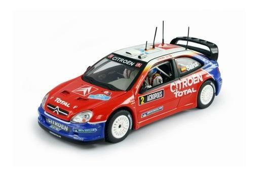 Vitesse - Citroen Xsara WRC - C.Sainz   M.Marti - Acropoli 2005 - V43225