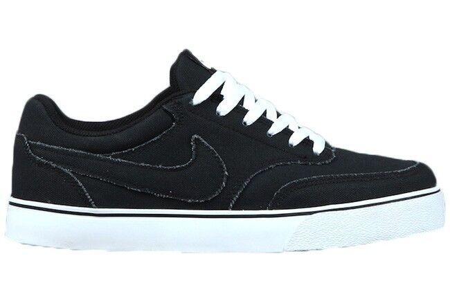 Nike HARBOR SB On All Negro Blanco Stripe On SB Sole Canvas Skate (268) DE LOS HOMBRES Shoes 1f5a43