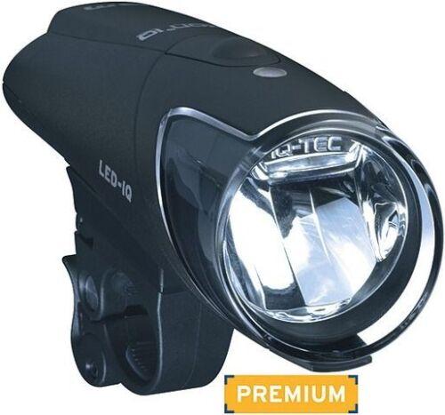Akku u Ladegerät Busch und Müller IXON IQ Premium 80 LUX LED Scheinwerfer m