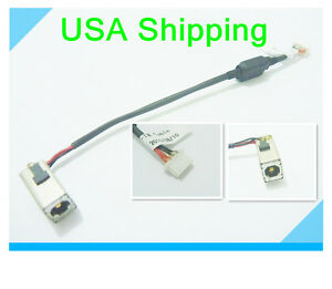 DC power jack in cable harness for HP Mini 110-3130EV 110-3130NR 110-3130SB