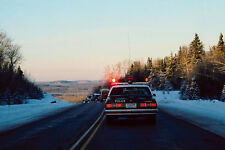 778090 Police Car Northwestern Ontario Canada A4 Photo Print