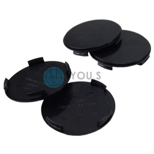 1 x MOYEU CAPUCHON MOYEU jantes Couvercle Support Noir Extérieur 64 intérieur 61 mm ATS