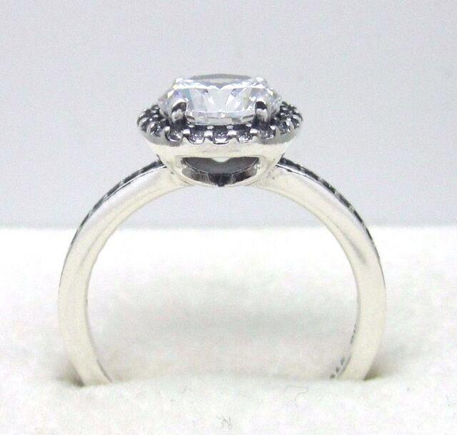 33f1f5dbf4512 closeout pandora classic elegance ring clear cz 39338 9ad2c