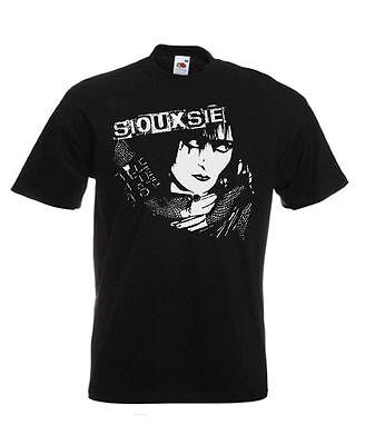 Siouxsie Sioux Siouxsie & The Banshees Punk Rock Music T Shirt