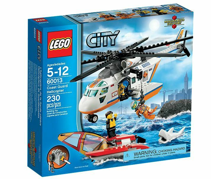 LEGO ® City 60013 Elicottero della Guardia Costiera NUOVO _ Coast Guard Helicopter NEW