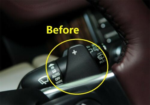 Black Steering Wheel Shift paddle Extension For land Range rover Jaguar XF XE XJ