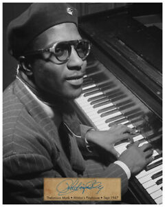 THELONIOUS-MONK-Jazz-Piano-Legend-1947-8-X10-PHOTO-AUTOGRAPH-RP