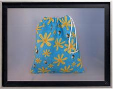 Gymnastics Leotard Grip Bags / Buzzy Bees and Daisies Gymnast Birthday Goody Bag