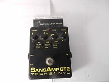 TECH 21 SANSAMP GT2 AMP MODELLER OVERDRIVE EFFECTS PEDAL FREE U.S. SHIPPING!