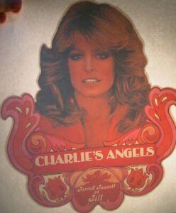 FARRAH FAWCETT CHARLIES ANGELS 1970's VINTAGE CLASSIC IRON ON TRANSFER NICE, B-7