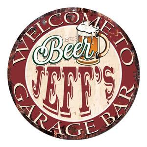 CPBG-0120-BEER-JEFF-039-S-Garage-Bar-Chic-Tin-Sign-Man-Cave-Decor-Gift-Ideas