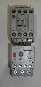 Allen-Bradley-100C09D-10-Ser-A-Contactor-With-193-EECB-Ser-B-Relay