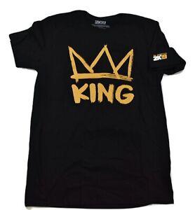 20th-Anniversary-Edition-Mens-NBA-2K19-King-Lebron-James-Crown-Shirt-New-M