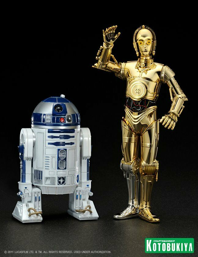 Star Wars - C3PO & R2D2 - 1 10th Scale Figures - Limited Edition - ARTFX