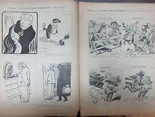 Judaica Defenseurs de la Justice AFFAIRE DREYFUS, Cartoons, Satire, RARE.
