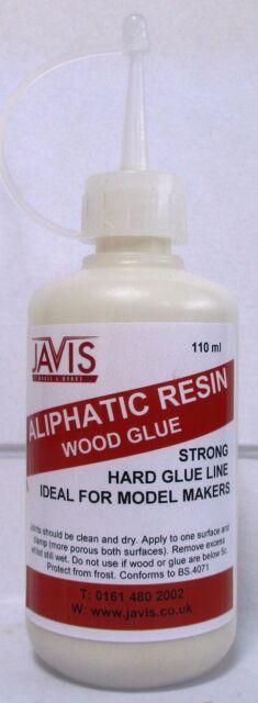 Javis WV326- Aliphatic Resin 110ml Bottle - Modelmakers Strong Wood Glue T48Post