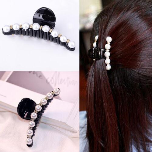 Crystal Hair Clip Grips Hair Claw Clamp Wedding//Bride//Bridalm Stylish