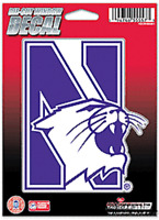 Northwestern Wildcats 5 Vinyl Die Cut Decal Sticker Emblem University Of