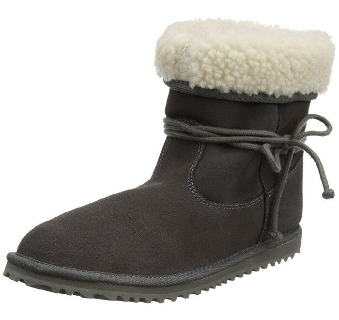 Roxy Mujer botas botas botas Penny gris carbón 5 Reino Unido a estrenar en caja  la mejor oferta de tienda online