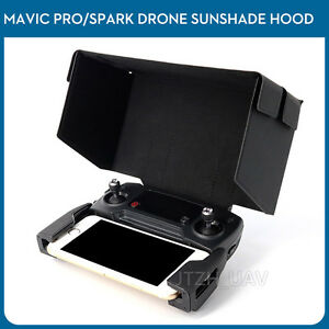 Details about Remote Monitor Hood Sun Shade Screen Cover For DJI Spark  Mavic 2 Zoom Pro Air