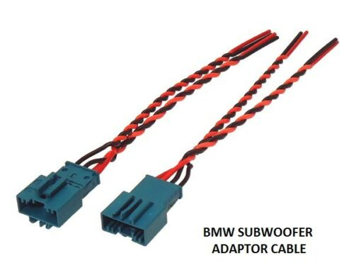 UNDERSEAT Adaptador De Cable De Subwoofer Sub Plomo F07 2010 /> BMW serie 5 GT