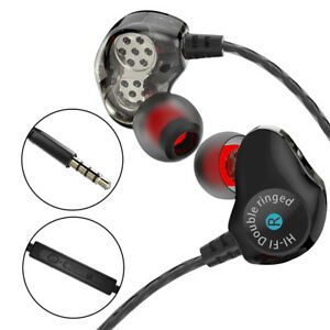 HIFI-Dual-Driver-Headphones-Super-Bass-Earphone-Stereo-Headset-Sport-Earbuds-Mic