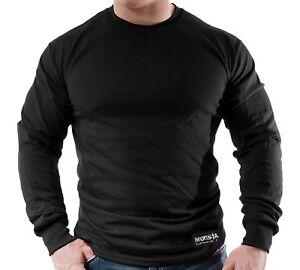 New-Men-039-s-Monsta-Clothing-Fitness-Gym-Longsleeve-Classic