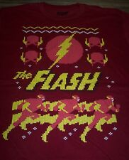 The Flash Dc Comics Ugly Christmas Sweater Sublimation Long Sleeve