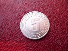 5 centavos de cordoba 1974 Nicaragua