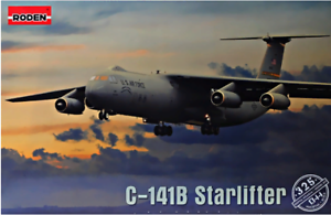 Roden-325-Lockheed-C-141B-Starlifter-1-144-scale-model-airplane-kit-358-mm