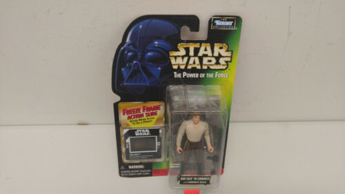 Hasbro Han Solo in Carbonite with Carbonite Bloc Freeze Frame Figure Neuf!