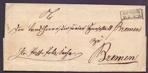 Vorphilabrief-ca-1865-aus-Gruenberg-nach-Bremen-doppelt-verwendet-589