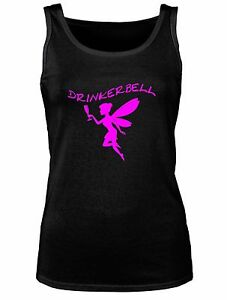 TANK-TOP-DRINKERBELL-TRINKERBELL-FEE-TRINKERFEE-DAMEN-LADY-GIRLY-TOP-T-SHIRT