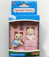 Sylvanian Families Cream Cat Twins Flair