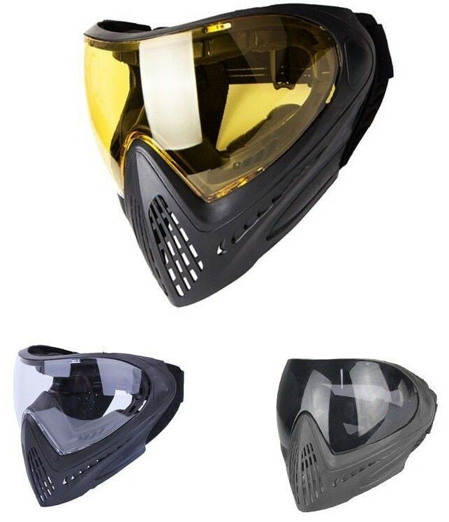 Tactical Anti-fog Full Face Mask Airsoft Helmet Safety Shield Paintball Predect