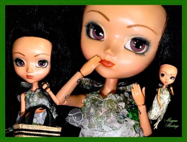 Free Shipping! Rare Squall Black Hair Pullip 2003 Hard To Find Doll
