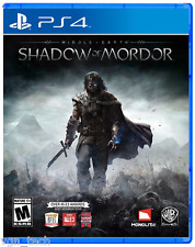 MIDDLE EARTH SHADOW OF MORDOR PS4 [PRE OWNED] GREAT CONDITION