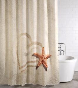 Duschvorhang textil anti schimmel effekt wannenvorhang badewannenvorhang sandy ebay - Muffa nella doccia ...