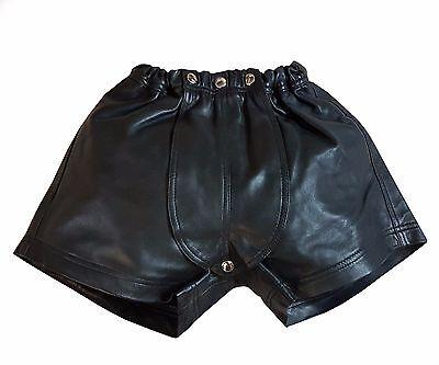 Fashion Style Pelle Short Elastica Da Agnello Nappa Dimensioni 32 ~ 34 ~ 36 ~ 38 ~ 40-