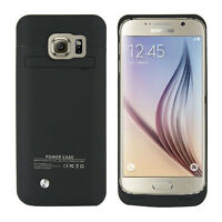 External Backup Battery Charger Power Bank Case for Samsung Galaxy S6 / S6 Edge