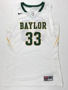 5bdb1a69ab1d New Nike Women s M Baylor Hyperelite DQT Basketball Jersey  33 White ...