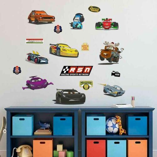 Disney PIxar Cars Boys Kids Wall Art Stickers Nursery Decor Decal Mural Gift