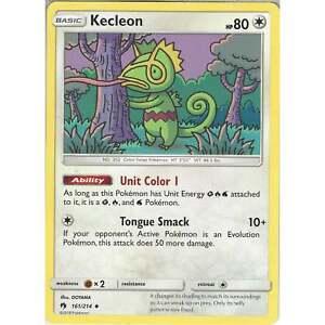 Pokemon-TCG-Kecleon-161-214-Uncommon-Card-Sun-amp-Moon-Lost-Thunder-SM8