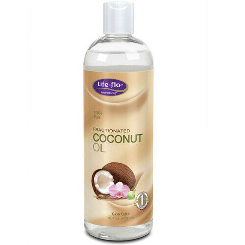 Fractionated Coconut Oil 16 oz by Life-Flo