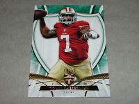 2013 Topps Supreme Colin Kaepernick 20 Green Sp/50 San Francisco 49ers - Nevada